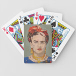 Frida Kahlo en Coyoacán Portrait Bicycle Poker Deck