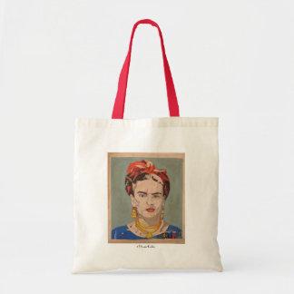 Frida Kahlo en Coyoacán Portrait Tote Bag