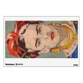 Frida Kahlo en Coyoacán Portrait Wall Sticker