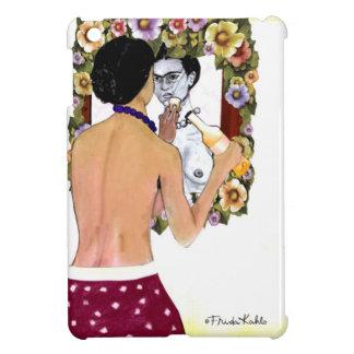 Frida Kahlo en el Espejo Portrait iPad Mini Cases