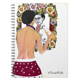 Frida Kahlo en el Espejo Portrait Note Books