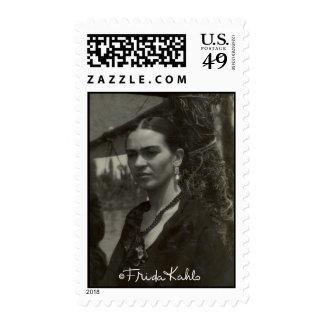 Frida Kahlo en negro Sellos