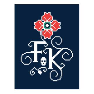 Frida Kahlo | Floral Tribute Postcard
