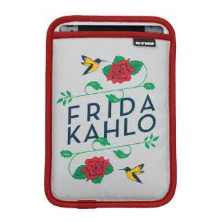 Frida Kahlo | Floral Typography Sleeve For iPad Mini