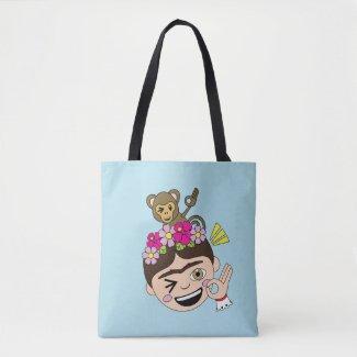 Frida Kahlo | FridaMoji - A OK Tote Bag
