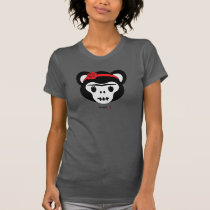 Frida Kahlo   FridaMoji - Day of the Dead Monkey T-Shirt