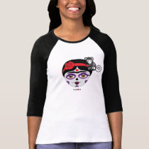 Frida Kahlo   FridaMoji - Day of the Dead T-Shirt
