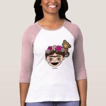 Frida Kahlo   FridaMoji - Happy Frida T-Shirt