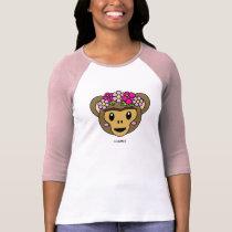 Frida Kahlo   FridaMoji - Monkey T-Shirt