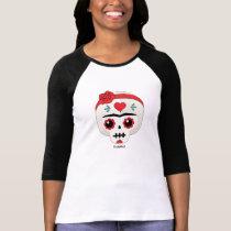 Frida Kahlo   FridaMoji - Sugar Skull T-Shirt