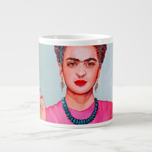 FRIDA KAHLO BIG COFFEE MUG