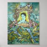 Frida Kahlo Graffiti 2 Poster