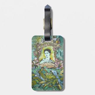 Frida Kahlo Graffiti Bag Tag