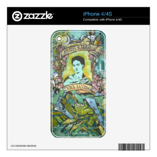 Frida Kahlo Graffiti Decal For The iPhone 4