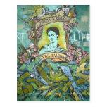 Frida Kahlo Graffiti Post Cards