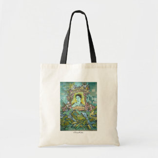 Frida Kahlo Graffiti Tote Bag