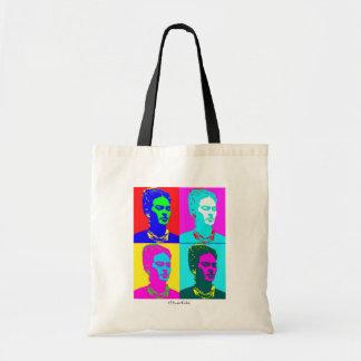 Frida Kahlo Inspired Portrait Tote Bag
