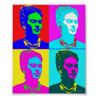 Frida Kahlo inspiró el retrato Impresiones