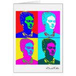 Frida Kahlo inspiró el retrato Tarjeta De Felicitación