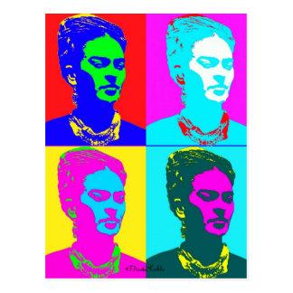 Frida Kahlo inspiró el retrato Tarjetas Postales