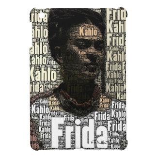 Frida Kahlo Lettering Portrait Case For The iPad Mini