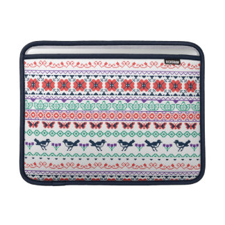 Frida Kahlo | Mexican Pattern MacBook Sleeve