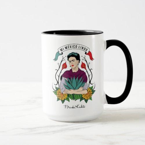 Frida Kahlo | Mi Mexico Lindo Mug