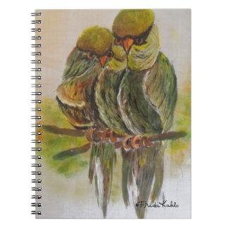 Frida Kahlo Painted Birds Notebook