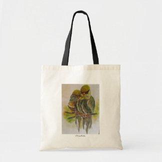 Frida Kahlo Painted Birds Tote Bag