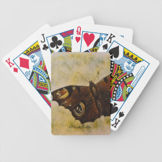 Frida Kahlo Painted Butterfly Bicycle Poker Cards