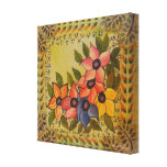 Frida Kahlo Painted Flores Gallery Wrap Canvas