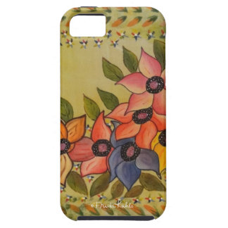 Frida Kahlo Painted Flores iPhone SE/5/5s Case