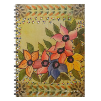 Frida Kahlo Painted Flores Notebook