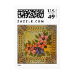 Frida Kahlo Painted Flores Postage Stamps