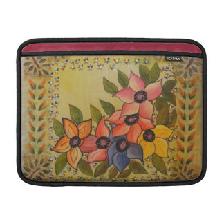Frida Kahlo Painted Flores Sleeve For MacBook Air