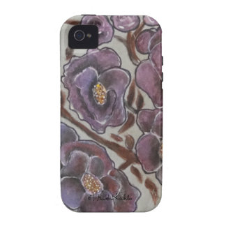 Frida Kahlo Painted Flowers iPhone 4/4S Cover