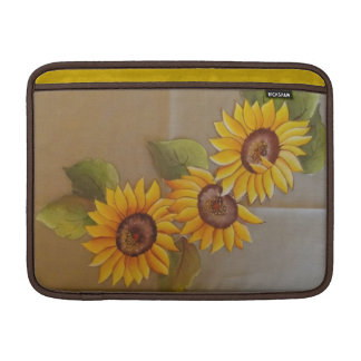Frida Kahlo Painted Sunflowers Sleeve For MacBook Air