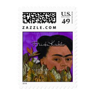 Frida Kahlo Pasion Por La Vida 2 Postage Stamps