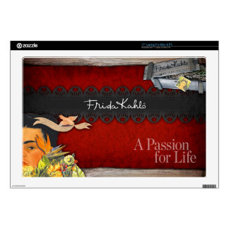Frida Kahlo - Passion for Life Decal For Laptop