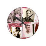 Frida Kahlo Photo Montage Clock