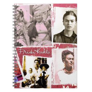 Frida Kahlo Photo Montage Notebook