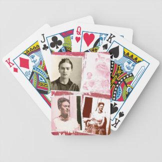 Frida Kahlo Photo Montage Poker Cards