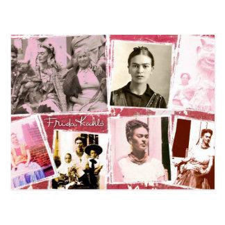 Frida Kahlo Photo Montage Postcard