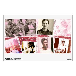 Frida Kahlo Photo Montage Room Sticker