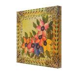 Frida Kahlo pintó Flores Impresión En Lienzo