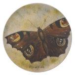 Frida Kahlo pintó la mariposa Plato