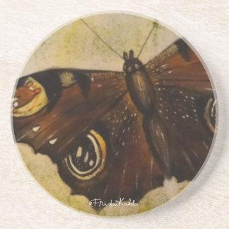 Frida Kahlo pintó la mariposa Posavasos Diseño
