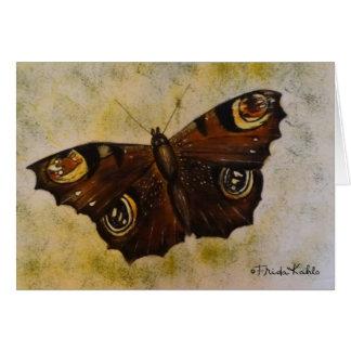 Frida Kahlo pintó la mariposa Tarjeta