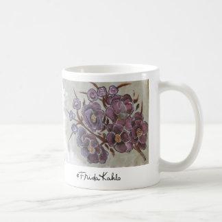 Frida Kahlo pintó las flores Taza De Café
