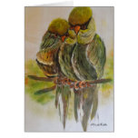 Frida Kahlo pintó pájaros Felicitación